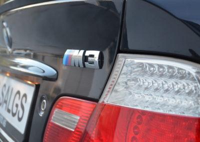 2003 m3 e46 emblem bak